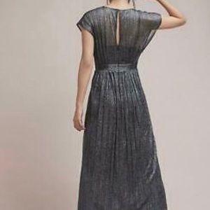 Anthropologie Moulinette Soeurs Metallic dress 12